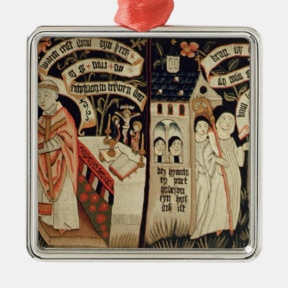 The Search after Truth, German, c.1490 Christmas Ornament