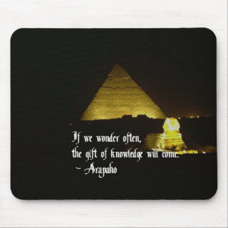 The search for knowledge mousepad