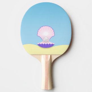 The Seashell Ping Pong Paddle