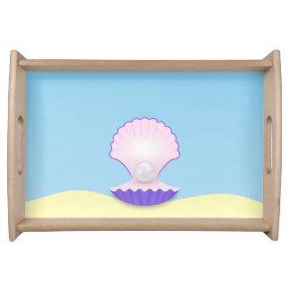 The Seashell Serving Tray