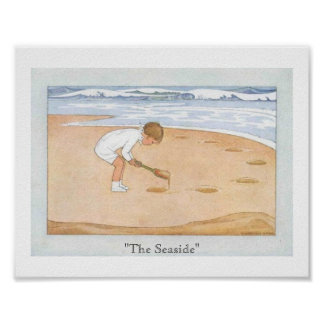 The Seaside Poster