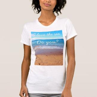The seaside  t- shirt