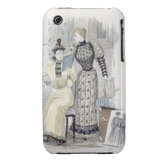 The Season, fashion plate for 'The Queen', Septemb iPhone 3 Cover
