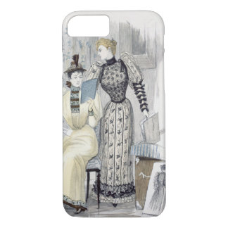 The Season, fashion plate for 'The Queen', Septemb iPhone 8/7 Case