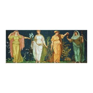 The Seasons Canvas Print