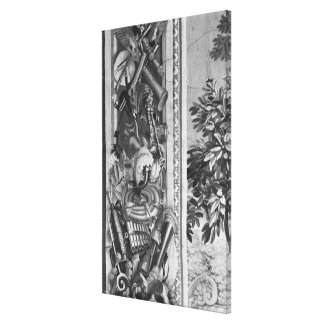 The Seasons' tapestry Gallery Wrapped Canvas