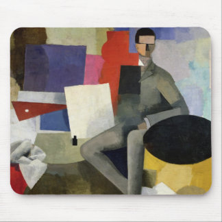 The Seated Man, or The Architect Mouse Pad