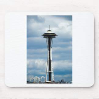 The Seattle Space Needle Mouse Pad