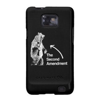 THE SECOND AMENDMENT.png Galaxy SII Cases