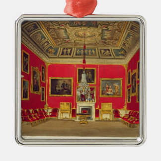 The Second Drawing Room, Buckingham House, from 'T Christmas Ornament