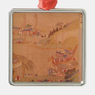 The Second Sui Emperor, Yangdi Christmas Ornament