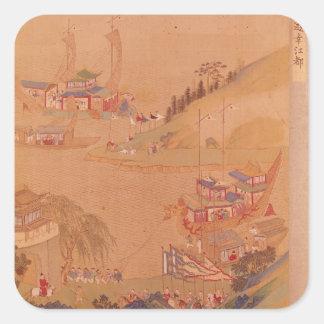The Second Sui Emperor, Yangdi Square Sticker