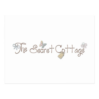 The Secret Cottage Products Postcard
