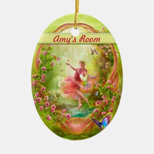 The Secret Garden Door hanger / Room Christmas Ornament