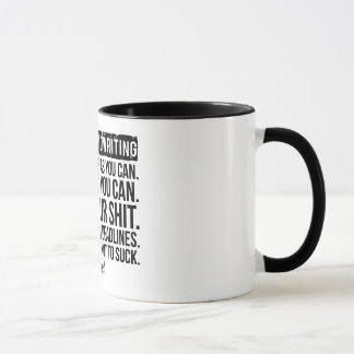 THE SECRET TO WRITING: Mug