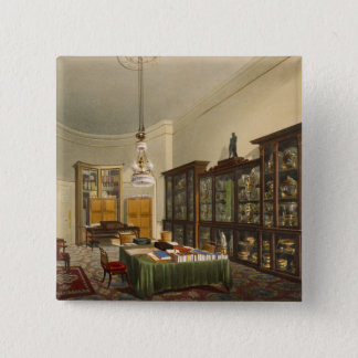 The Secretary's Room, Apsley House, by T. Boys, 18 15 Cm Square Badge