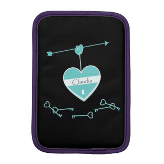 The secrets of heart iPad mini sleeve