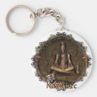 The Seer-Namaste Key Ring