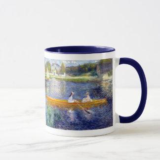 The Seine at Asnieres (The Skiff) Renoir Mug