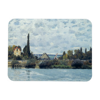 The Seine at Bougival, 1873 Rectangular Photo Magnet