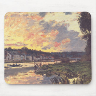 The Seine at Bougival in the Evening Mousepad