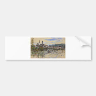 The Seine at Vetheuil by Claude Monet Bumper Sticker