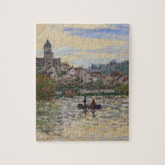 The Seine at Vetheuil by Claude Monet Jigsaw Puzzle