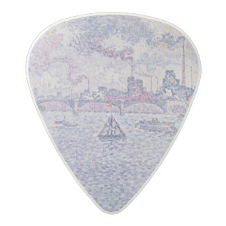 The Seine, Grenelle, 1899 Acetal Guitar Pick