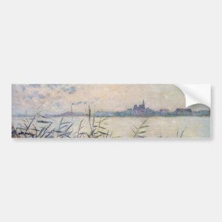 The Seine near Argenteuil - Claude Monet Bumper Sticker