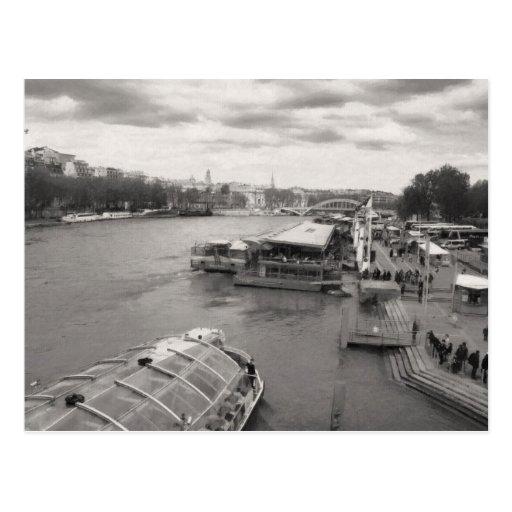 The Seine Post Card