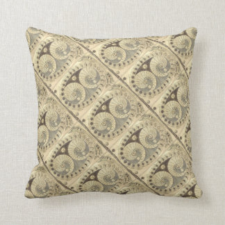 The Selenic Shadowdial by Athanasius Kircher Throw Pillow