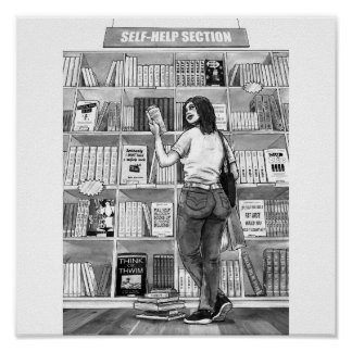 The Self-help Bookshop Poster