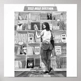 The Self-help Bookshop Poster