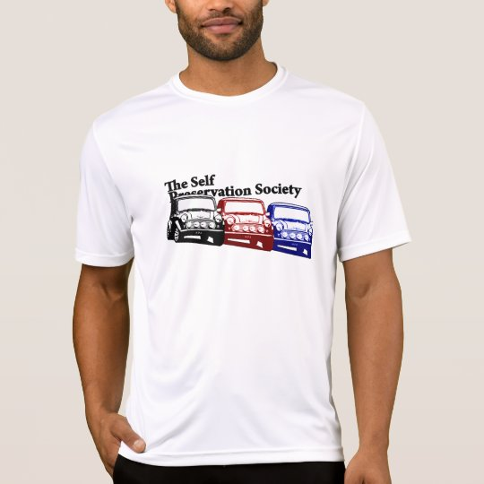 The Self Preservation Society Italian Job T-Shirt
