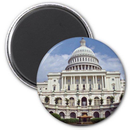 The Senate, Washington, D.C.  flowers 6 Cm Round Magnet