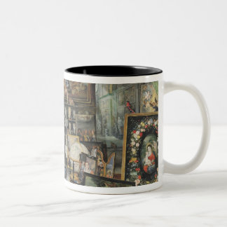 The Sense of Sight, 1617 Two-Tone Coffee Mug