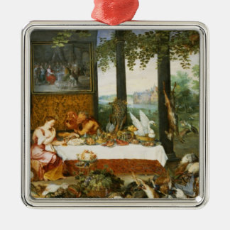 The Sense of Taste, 1618 Christmas Ornament