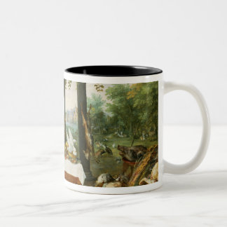 The Sense of Taste, 1618 Two-Tone Coffee Mug