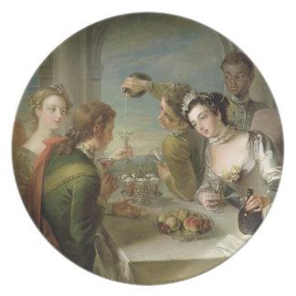 The Sense of Taste, c.1744-47 (oil on canvas) (see Plate