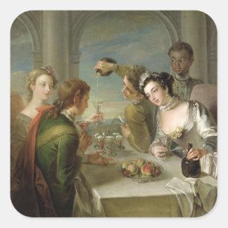 The Sense of Taste, c.1744-47 (oil on canvas) (see Square Sticker