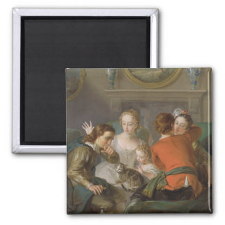 The Sense of Touch, c.1744-47 (oil on canvas) (see Square Magnet
