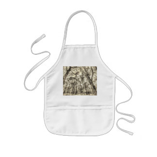The Sepia Forest Kids Apron
