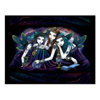 The Seraphina Celestial Fairy Sisters Postcard