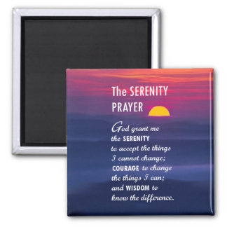 The Serenity Prayer 2 Magnet