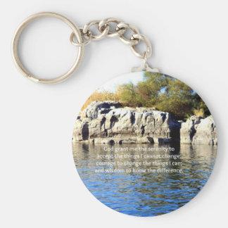 The Serenity Prayer Key Ring