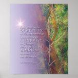 The Serenity Prayer Madrone Print