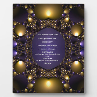 THE SERENITY PRAYER.multiple products selected Plaque