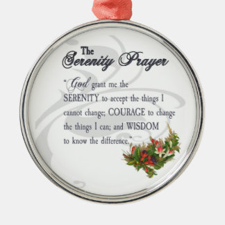 The Serenity Prayer Ornament