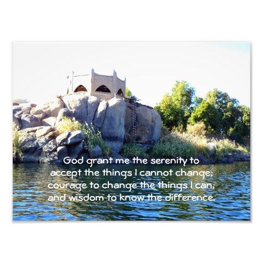 The Serenity Prayer Art Photo