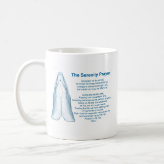 The Serenity Prayer (praying hands) Coffee Mug